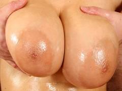 Tits rubbing cock