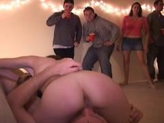 Slut receives fresh cum