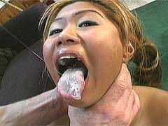 Pierced pussy gets drilled