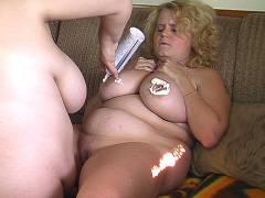 Wild chubby lesbians
