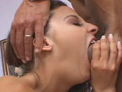 Deepthroat with pornographic bitch
